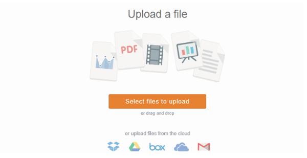 SlideShare upload