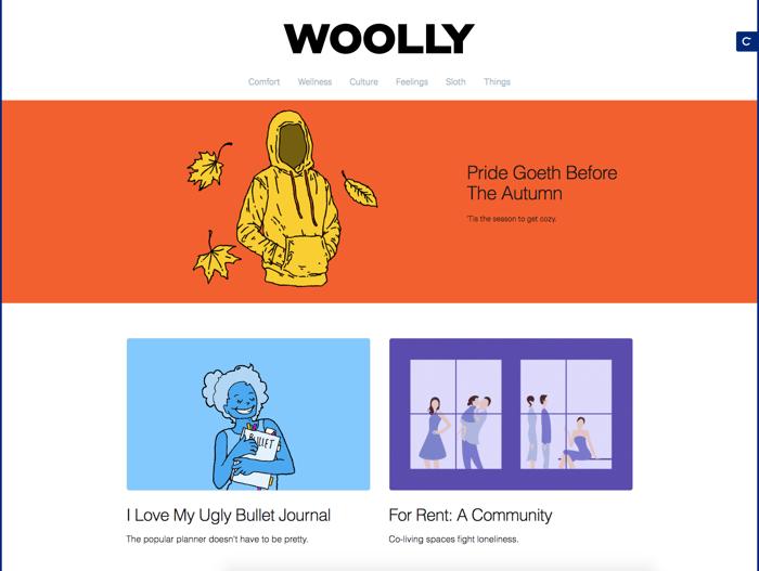 Woolly by Casper